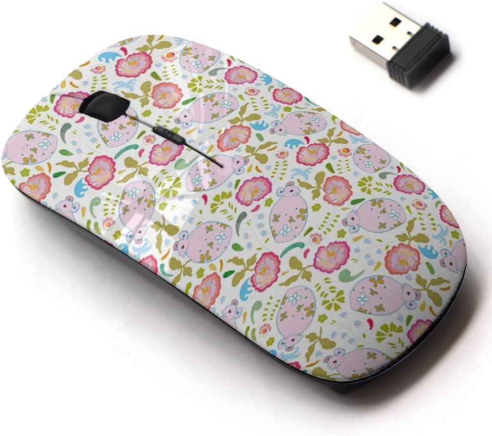 2.4G Wireless Mouse with Cute Pattern for All Design and New item Max 47% OFF Laptops