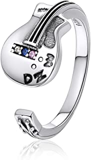 Best sterling silver guitar ring Reviews