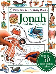 Bible Sticker Activity Book--Jonah and the Big Fish (Bible Sticker Activity Books (Tyndale)