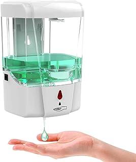 KAMYSEN 700ml Dispensador De Jabón Automático,sin Contacto eléctrico Dispensador Despachador De Jabón Y Gel Antibacterial ...