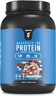 Inno Supps Advanced Iso Protein - 100% Whey Isolate Protein Powder, No Artificial Sweeteners, Low Fat, Low Carbs, 25g of P...