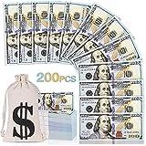 200 PCS Fake Money, Prop Money 100 Dollar...