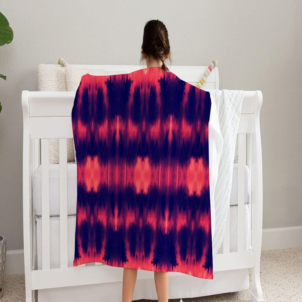 LPVLUX Vector Tie OFFicial mail order Dye Hand Blanket Cozy Fleece Soft Super B 2021 new and