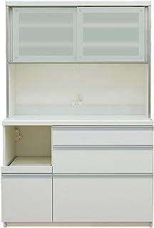 パモウナ 食器棚QF プレーンホワイト 幅1200×高さ178×奥行50 日本製 QF-1200R