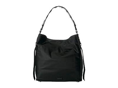 AllSaints Nilo North/South Tote (Black) Handbags
