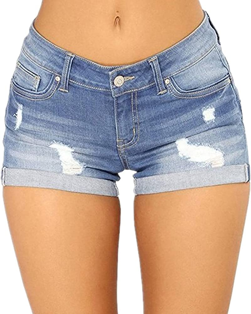 NP Jeans Shorts Women Ripped Short Jeans Women Short Jeans Women