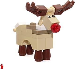 LEGO Holiday MiniFigure Animal - Reindeer (Rudolph with Red Nose) 10245