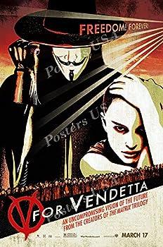 Posters USA V For Vendetta Movie Poster GLOSSY FINISH - FIL185  24  x 36   61cm x 91.5cm