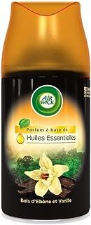 AIR WICK Lot de 2 Desodorisants Maison Recharge FreshMatic Bois & Vanille 250ml
