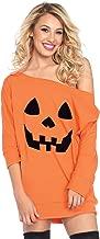 Leg Avenue Women's Pumpkin and Ghost Halloween Shirt Dress Costume