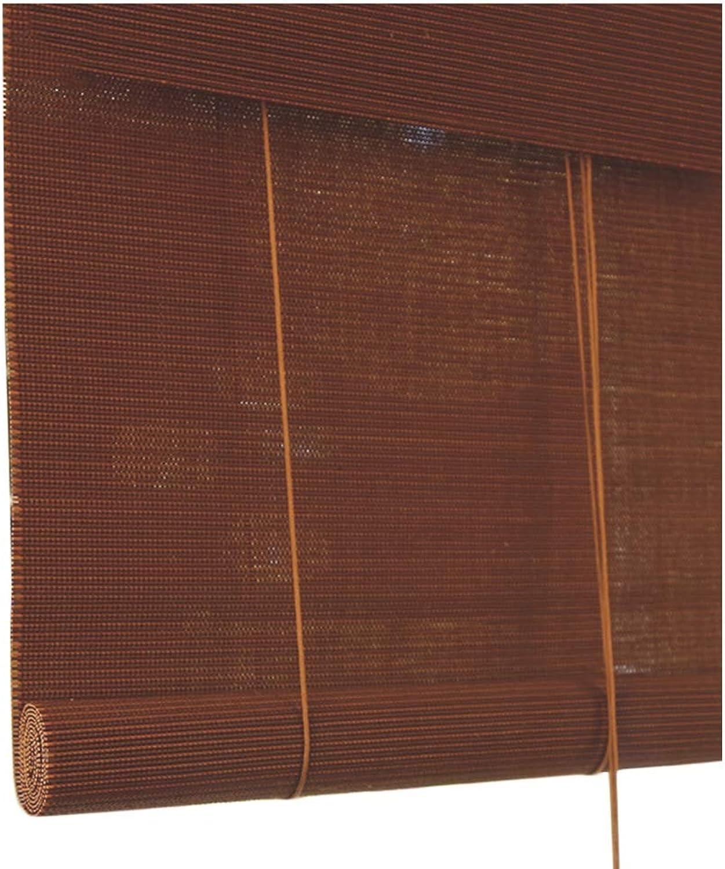 grandes ofertas LIQICAI Estores De Bambú Bambú Bambú Persianas Enrollables De Bambú Dividir Parojo De Fondo Restaurante Casa Decoración, 2 Colors, Multi-tamao, Personalizable (Color   A, Tamao   50X120CM)  venta