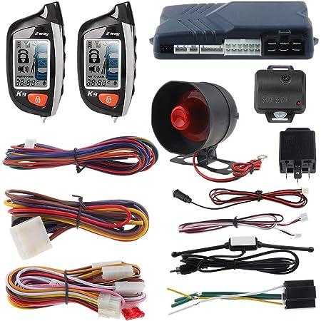 Easyguard Pke Auto Alarm System Mit Fernbedienung Start Elektronik
