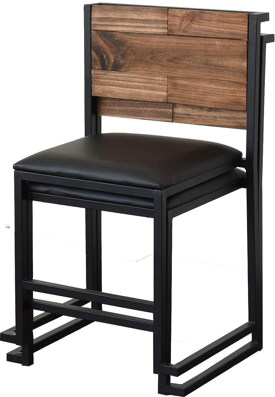 農業の満たすサミットダイニングチェア 天然木 北欧 木製 椅子 イス チェアー シンプル スタッキング アイアン おしゃれ オイル アンティーク 植物性オイル 塗装 モダン スタイリッシュ ハンドメイド ナチュラル