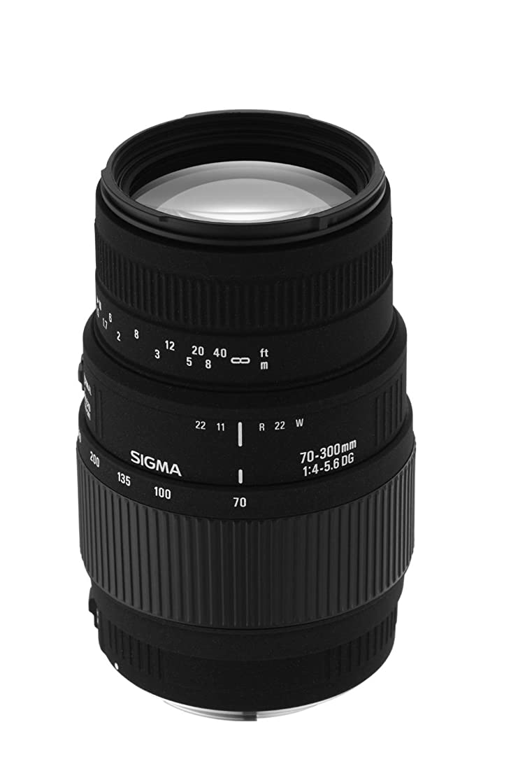 Sigma 70-300mm f/4-5.6 DG Macro Telephoto Zoom Lens for Nikon SLR Cameras (Discontinued by Manufacturer) (Renewed)
