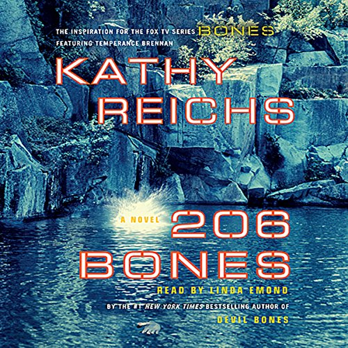 206 Bones Audiobook By Kathy Reichs cover art