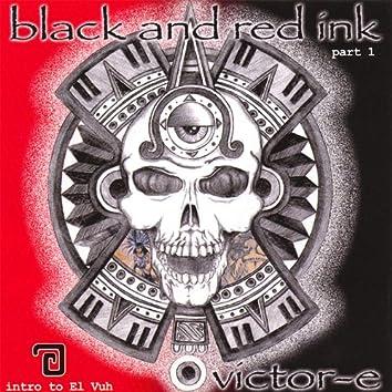 Black & Red Ink