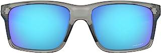 النظارة الشمسية مينلينك للرجال بشكل مستطيل من اوكلي، OO9264-01، لون اسود مطفي ورمادي، 57 ملم