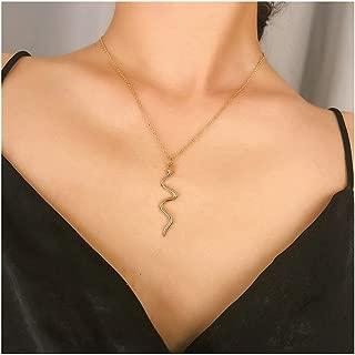 Best snake necklace vintage Reviews