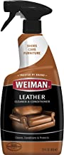 Weiman Leather Cleaner and Conditioner for Furniture – 22 Ounce – Cleans..