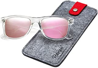 5ed688dbca Polarspex Polarized 80 s Retro Classic Trendy Stylish Sunglasses for Men  Women