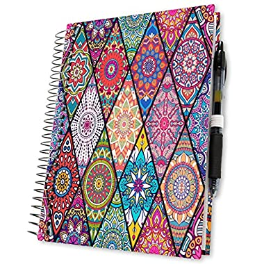 Planner 2018 by Tools4Wisdom Planners - 5x8 Hardcover w Tabs - First Ever Planner with a Daily Weekly Monthly Yearly Goals Planning System - Spiral | Color Pages | Pen Loop | Dated Calendar Year