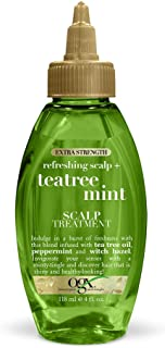 OGX Extra Strength Refreshing Scalp + Tea Tree Mint Scalp Treatment, 4 Ounce
