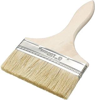 "uxcell 6"" Width Paint Brush Painting Drawing Oil Glues Faux Bristle Pen Paintbrush"