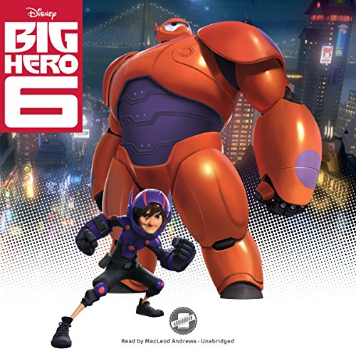 Big Hero 6 audiobook cover art