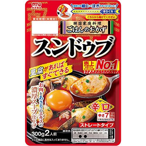 丸大食品 豆腐でつくるチゲの素スンドゥブ 袋300g