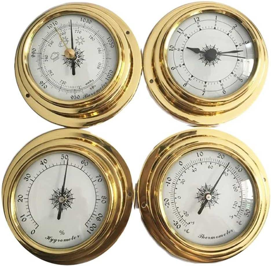 OFFicial site KenKER Online limited product Barometer Pressure Gauge Mount Weather Wall Station