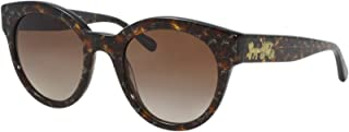 Sunglasses Coach HC 8265 554713 Tortoise Glitter Sig C Facing