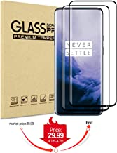 OnePlus 7 Pro/7T Pro Tempered Glass Screen Protector,9H Hardness/5D Oneplus 7Pro/7T Pro Full Screen Protector Film(Update)