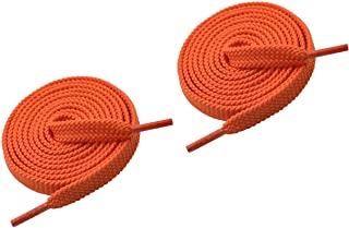 1 Pair Double Layer Flat Sneaker Shoe Laces, Flat Athletic Shoelace/Shoe Strings