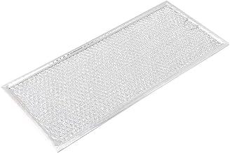RDEXP 333x149x2mm Filtro de malla de grasa de microondas de metal plateado B06X10569 Reemplazo de aluminio para pieza de filtro