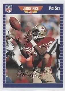 Jerry Rice (Football Card) 1988 Pro Set Test - [Base] #2