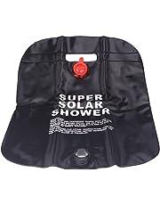 Cikuso 10Lキャンプハイキング太陽熱キャンプ シャワーバッグ 屋外シャワーウォーターバッグ