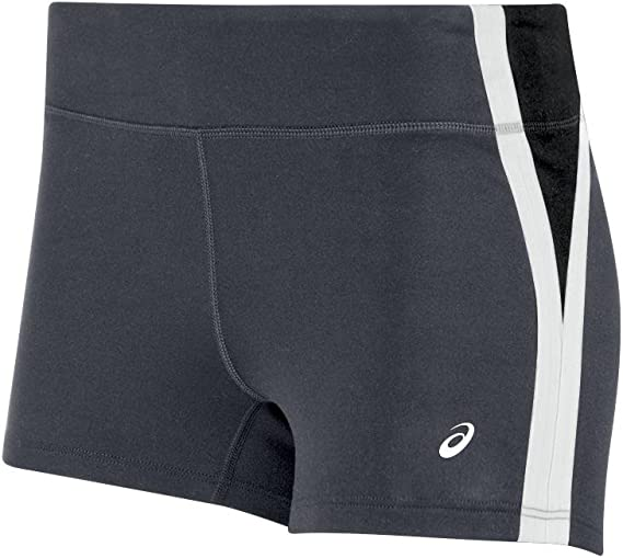 Womens ASICS Impulse Short  Athletic   Shorts Black