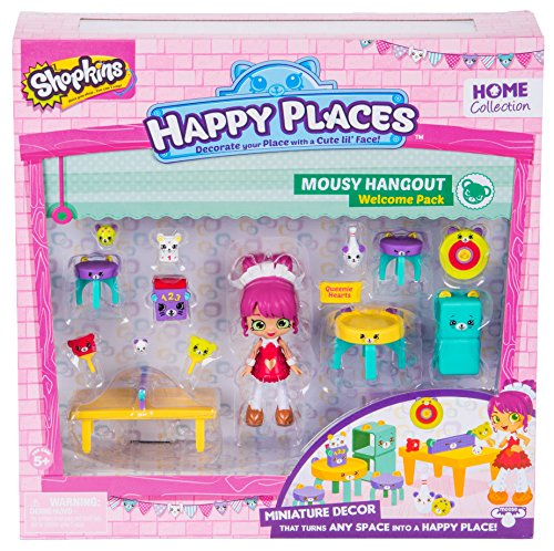Shopkins Happy endroits Rainbow Beach Lil /'shoppie Pack-Isla Hibiscus