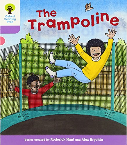 Oxford Reading Tree: Level 1+: Decode and Develop: The Trampolineの詳細を見る