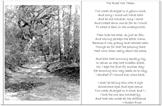 CafePress - The Road Not Taken - Mini Poster Print