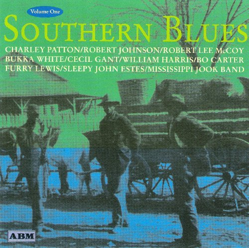 Sul dos azuis V.1 [Audio CD] William Harris; Frank Stokes; Tommy Johnson; Lewis peludo; Charlie McCoy; Charley Patton; Garfield Akers; Jed Davenport; Geeshie Wiley Mississipi e Sheiks
