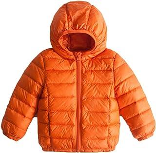 [サ二ー] ダウンジャケット キッズ ダウンコート 子供 女の子 ボーイズ 暖かい 男の子 男女兼用 ブルゾン 中綿ジャケット 軽量 フード付き おしゃれ 秋冬 かわいい ショート丈 フード付き 厚手