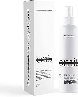 Growth Spray: Intensive Hair Growth Treatment Spray, Serum, Clinically Proven, Hair Loss Prevention, 100% Natural Organic & Australian Made. 6.76 fl. oz.