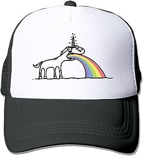 Waldeal Adult Unisex Rainbow Unicorn Baseball Caps Visor Hat for Outdoor Sports