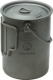 Valtcan 900ml Titanium Pot Backpacking Mug 34 oz