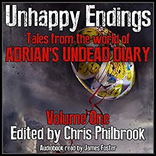 Unhappy Endings audiobook cover art