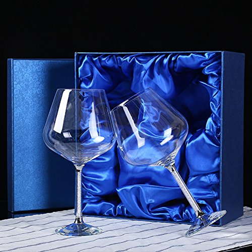 JARONG Vin Rouge Tasse Tasse Champagne Cristal sans Plomb