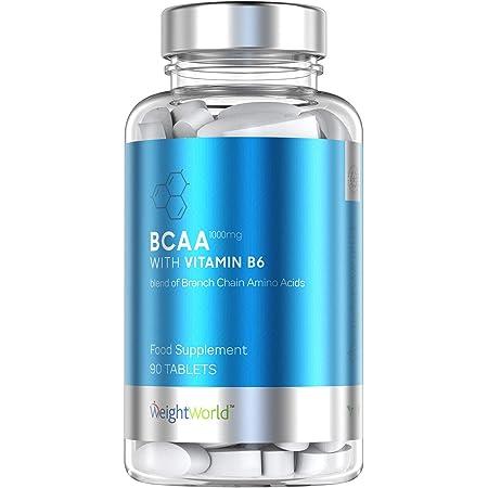 Aminoácidos BCAA Cápsulas Dosis 1000mg por Cápsula | Suplemento Deportivo de Proteinas Para el Crecimiento Muscular, Con Leucina, Isoleucina, Valina y ...