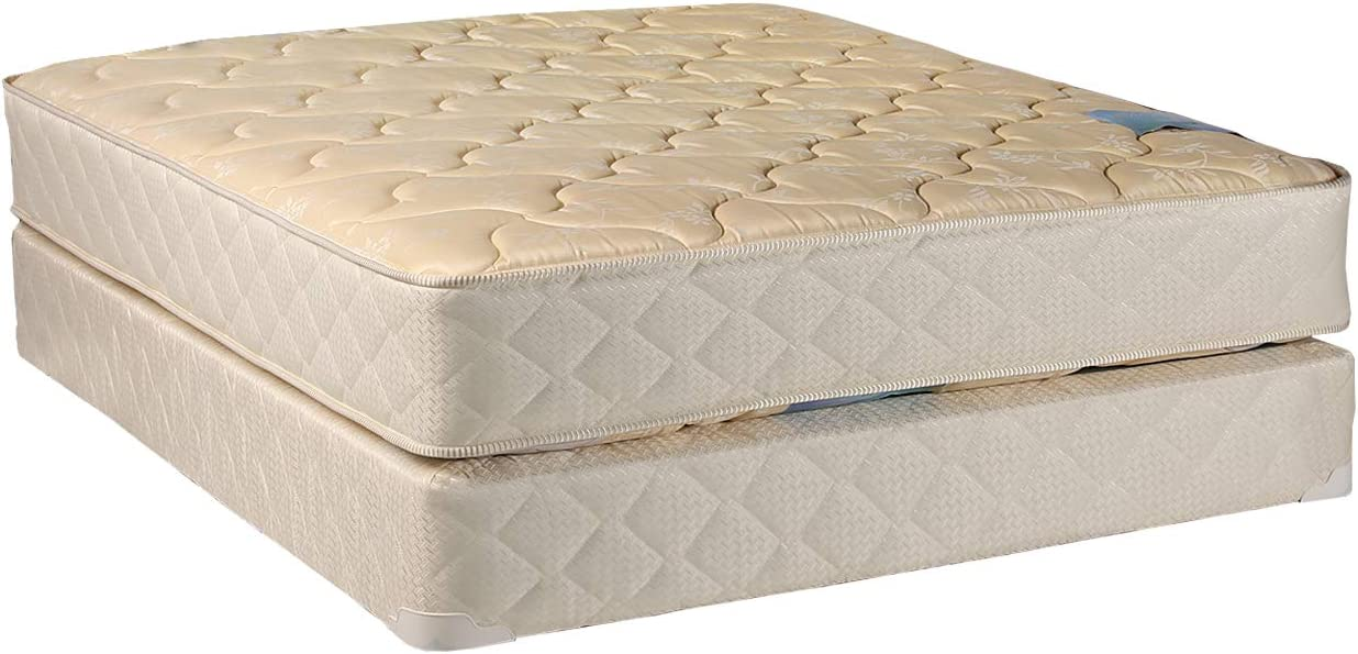 DS USA Chiro Premier Queen Max 90% OFF Store Beige Firm Gentle Two-Sided Mattres