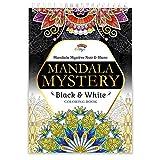 Livre coloriage adulte par Colorya | Edition Mandala Mystère Vol. II Noir & Blanc | Avec Reliure Spirale et Papier de Qualité au Format A4 | Coloriage Mystère | Coloriage Numéroté | Coloriage Mandala